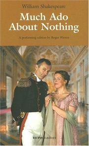 Cover of: Much Ado About Nothing by Roger Warren, William Shakespeare