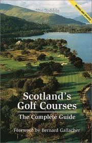 Scotland's Golf Courses PDF
