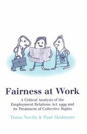 Fairness at work PDF