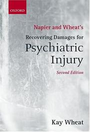 Napier and Wheat's recovering damages for psychiatric injury PDF