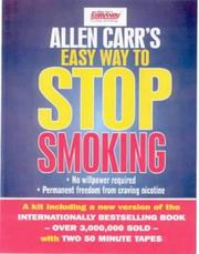 The easy way to stop smoking by Allen Carr