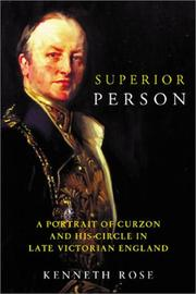 Superior person by Rose, Kenneth