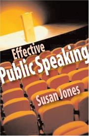 Speechmaking by Susan Jones