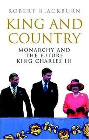 King and Country by Robert Blackburn