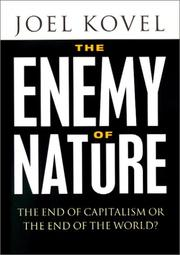 Cover of: The Enemy of Nature by Joel Kovel