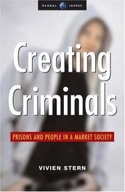 Creating Criminals by Vivien Stern