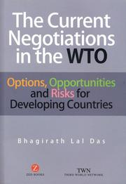 The current negotiations in the WTO