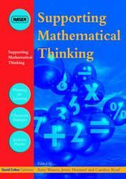 Supporting Mathematical Thinking (David Fulton / Nasen Publication) PDF