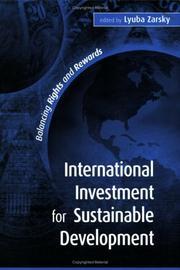 International Investment for Sustainable Development PDF