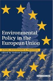 Environmental Policy in the European Union PDF