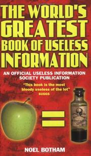 The world's greatest book of useless information PDF