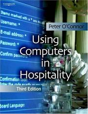 Using Computers in Hospitality by Peter O&#39;Connor