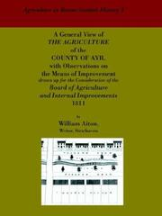 General View Of The Agriculture Of The County Of Ayr PDF