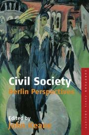 Civil Society by John Keane