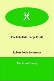 Cover of: The Ebb-tide by Robert Louis Stevenson