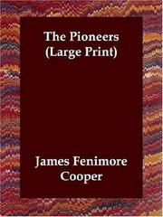 Cover of: The Pioneers (Large Print) by James Fenimore Cooper