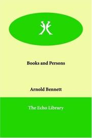 Books and Persons PDF