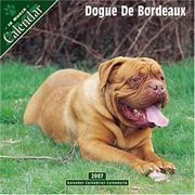 Dogue de Bordeaux 2007 Wall Calendar