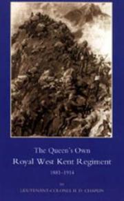 QUEEN'S OWN ROYAL WEST KENT REGIMENT, 1881- 1914 PDF