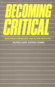 Becoming critical PDF