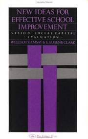 New ideas for effective school improvement by William Ramsay