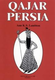 Qjr Persia by Ann K. S. Lambton