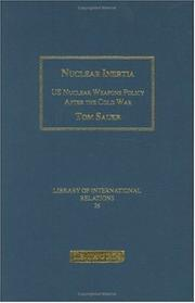 Nuclear Inertia by Tom Sauer