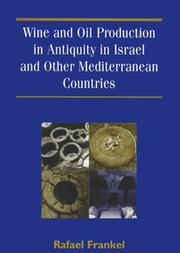 Wine and Oil Production in Antiquity in Israel and Other Mediterranean Countries (Jsot/Asor Monographs, 10) PDF