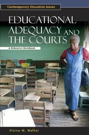 Educational Adequacy and the Courts