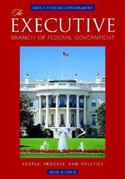 The Executive Branch of Federal Government PDF
