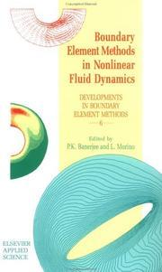 Boundary Element Methods in Nonlinear Fluid Dynamics PDF