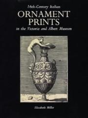 16th Century Italian Ornament Prints in the V&A Museum