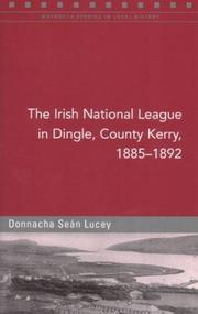 The Irish National League in  Dingle, County Kerry, 1885-1892 PDF