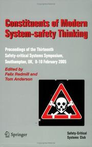 Constituents of modern system-safety thinking PDF