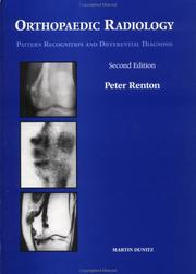 Orthopaedic radiology by Peter Renton