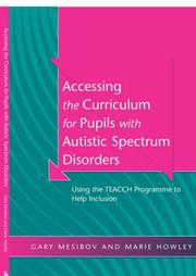 Accessing the Curriculum for Pupils with Autistic Spectrum Disorders PDF