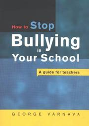Stop Bullying in Your School PDF