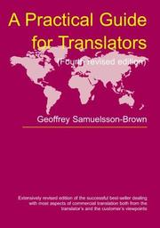 A practical guide for translators PDF