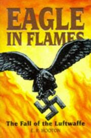Eagle in flames by E. R. Hooton
