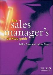 The Sales Manager's Desktop Guide PDF