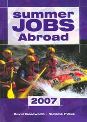 Summer Jobs Abroad 2007 (Summer Jobs Abroad) PDF