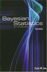 Bayesian statistics by Peter M. Lee