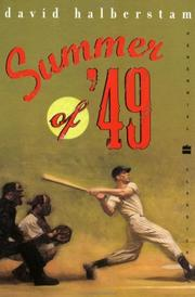 Summer of '49 by Halberstam, David.