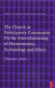The Church as participatory community by Simone Sinn