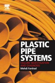 Plastic Pipe Systems by Mehdi Farshad