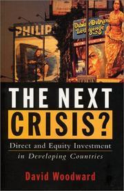 The Next Crisis? PDF