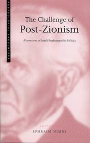 The Challenge of Post-Zionism PDF
