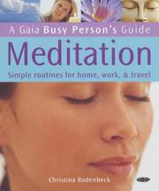 Meditation (Busy Person's Guide) PDF