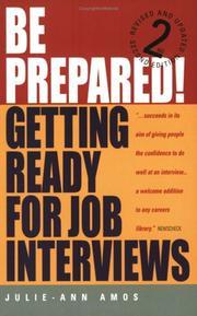 Be Prepared! PDF