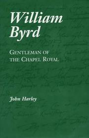 William Byrd by John Harley